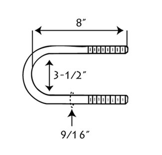 U-Bolt Diagram