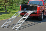 "Highland Arched, Center-Folding, Aluminum Loading Ramp Set - 90"" x 12"" - 1,500 lbs"