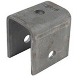 "Center Hanger for Double-Eye Springs - 2-1/2"" Tall - 9/16"" Bolt Hole"