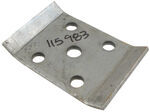 "U-Bolt Plate for 1-1/2"" Square Trailer Axles with 1-3/4"" Wide Springs"