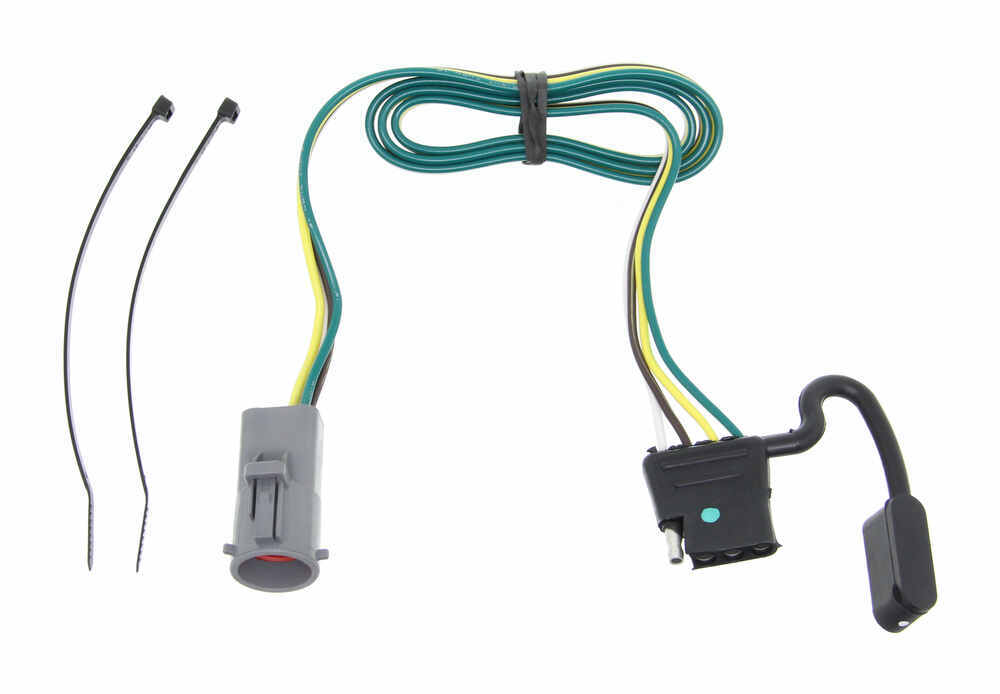 Ranger Boat Trailer Wiring Harness : Tow package wiring harness with pole trailer connector