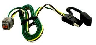 tow package vehicle wiring harness with 4 pole flat. Black Bedroom Furniture Sets. Home Design Ideas