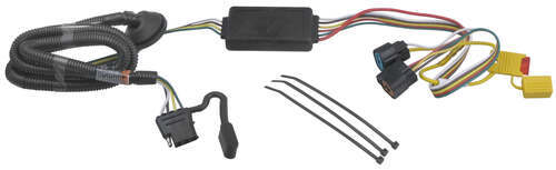 Hyundai Santa Fe, 2011 Custom Fit Vehicle Wiring Draw-Tite 118258
