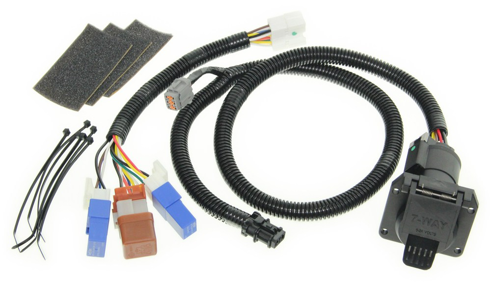 2001 Xterra Trailer Wiring Harness : Vehicle wiring harness with relays and way trailer