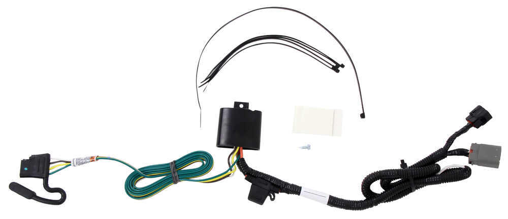 Tow ready custom fit vehicle wiring for kia sorento