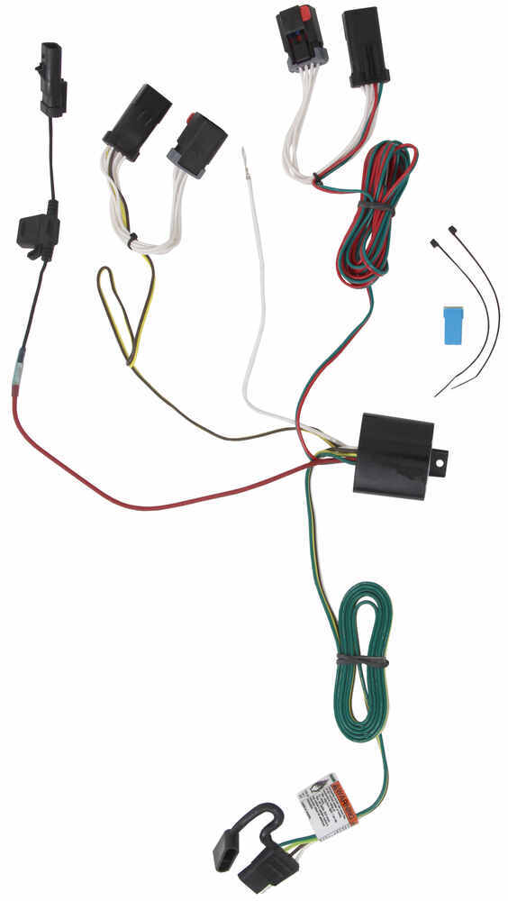 tow ready custom fit vehicle wiring for chrysler pacifica 2007 118303