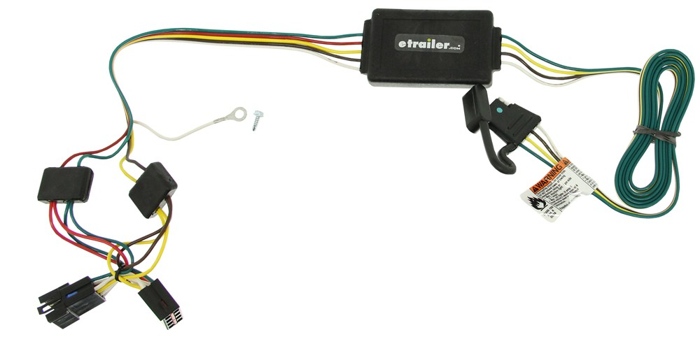Custom Fit Vehicle Wiring By Tow Ready For 1996 Cherokee