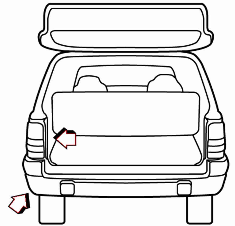 t one vehicle wiring harness with 4 pole flat trailer connector draw tite custom fit vehicle. Black Bedroom Furniture Sets. Home Design Ideas