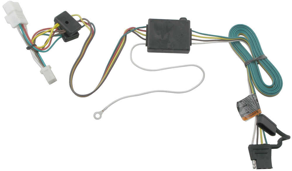 tow ready custom fit vehicle wiring for jeep 2001 118354