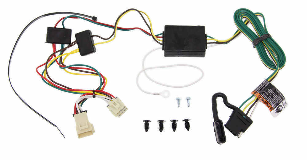 tow ready custom fit vehicle wiring for oldsmobile silhouette 2000 118355