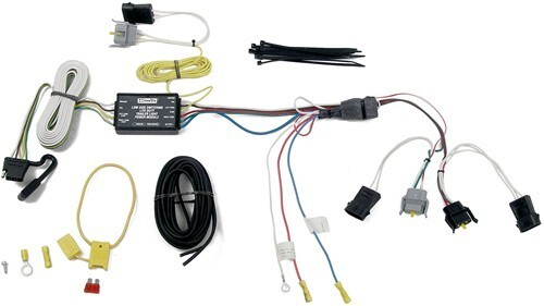 Trailer Wiring Harness For Ford Windstar : Tow ready custom fit vehicle wiring for ford windstar