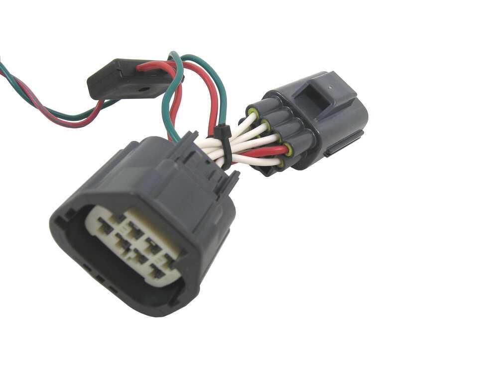Tow ready custom fit vehicle wiring for jeep commander