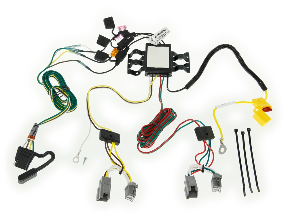 Tow ready custom fit vehicle wiring for volvo xc
