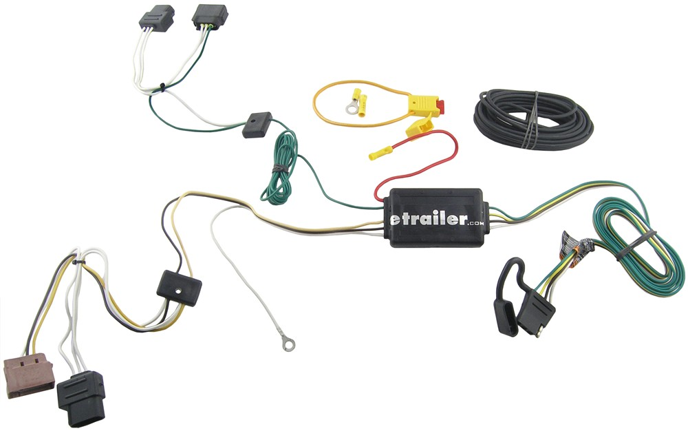 Custom Fit Vehicle Wiring for 2008 Ford Fusion Tow Ready