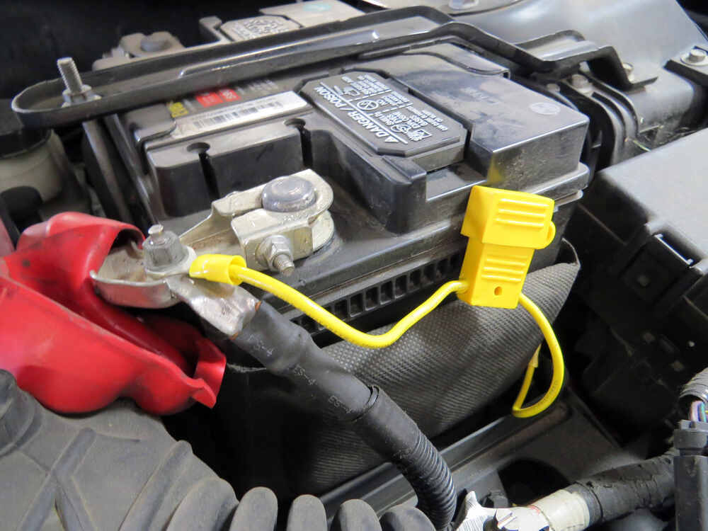 Custom Fit Vehicle Wiring for 2012 Ford Fusion Tow Ready