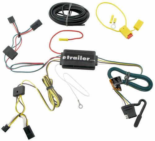 Trailer Wiring Harness Saturn Vue : Custom fit vehicle wiring for saturn vue tow ready