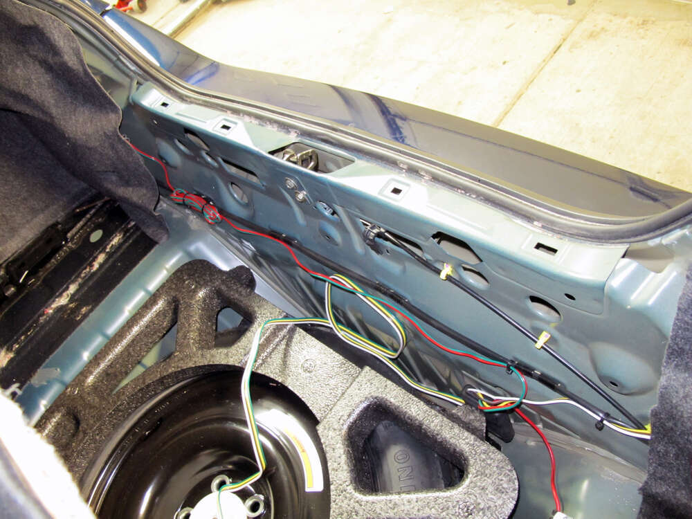 tow ready custom fit vehicle wiring for nissan maxima 0 118470