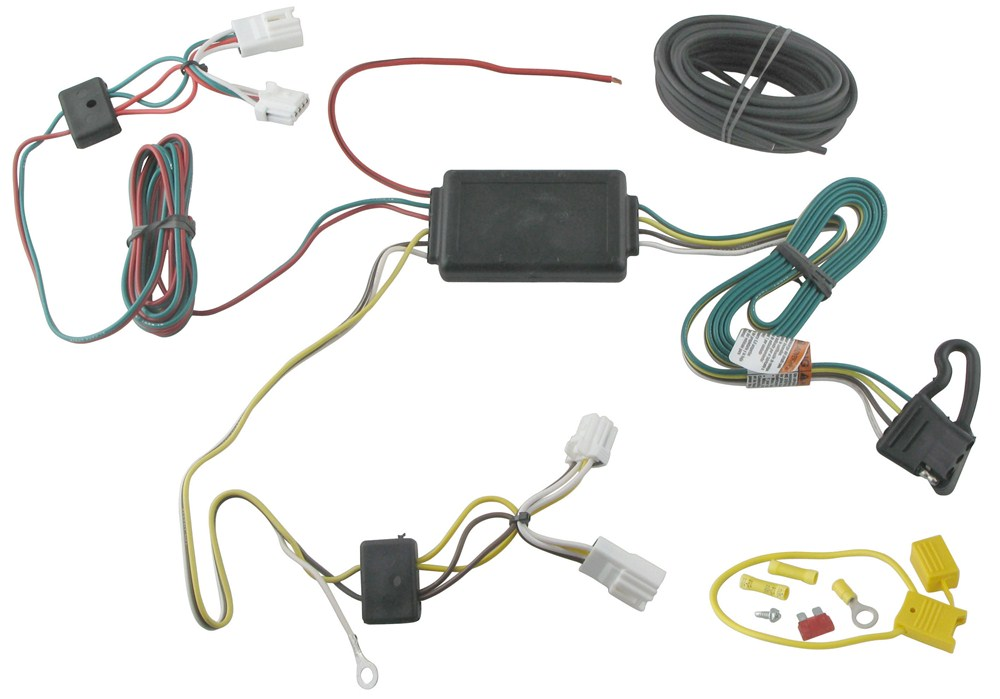Tow ready custom fit vehicle wiring for nissan rogue