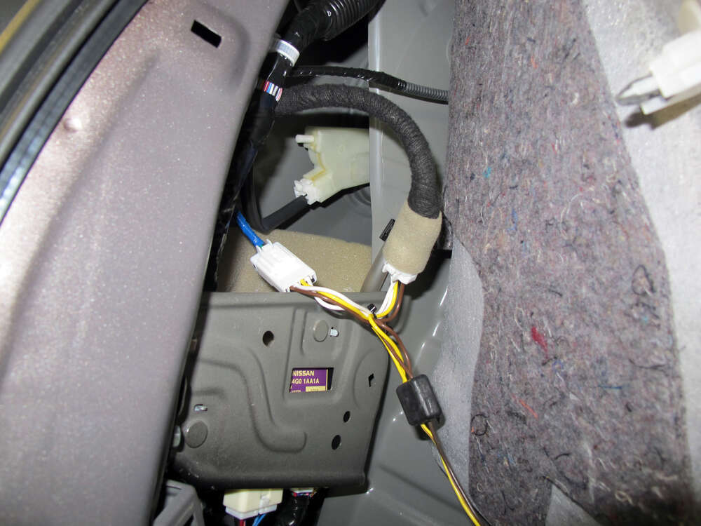 Custom fit vehicle wiring by tow ready for murano