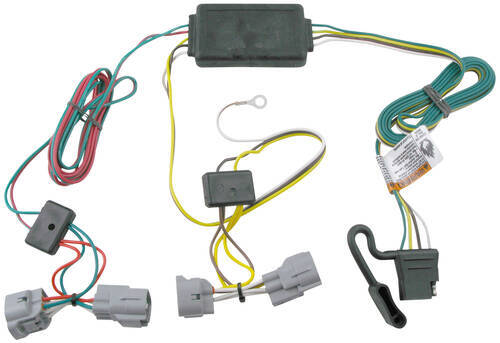 Trailer Wiring Harness For 2004 Toyota Tacoma : Tow ready custom fit vehicle wiring for toyota tacoma