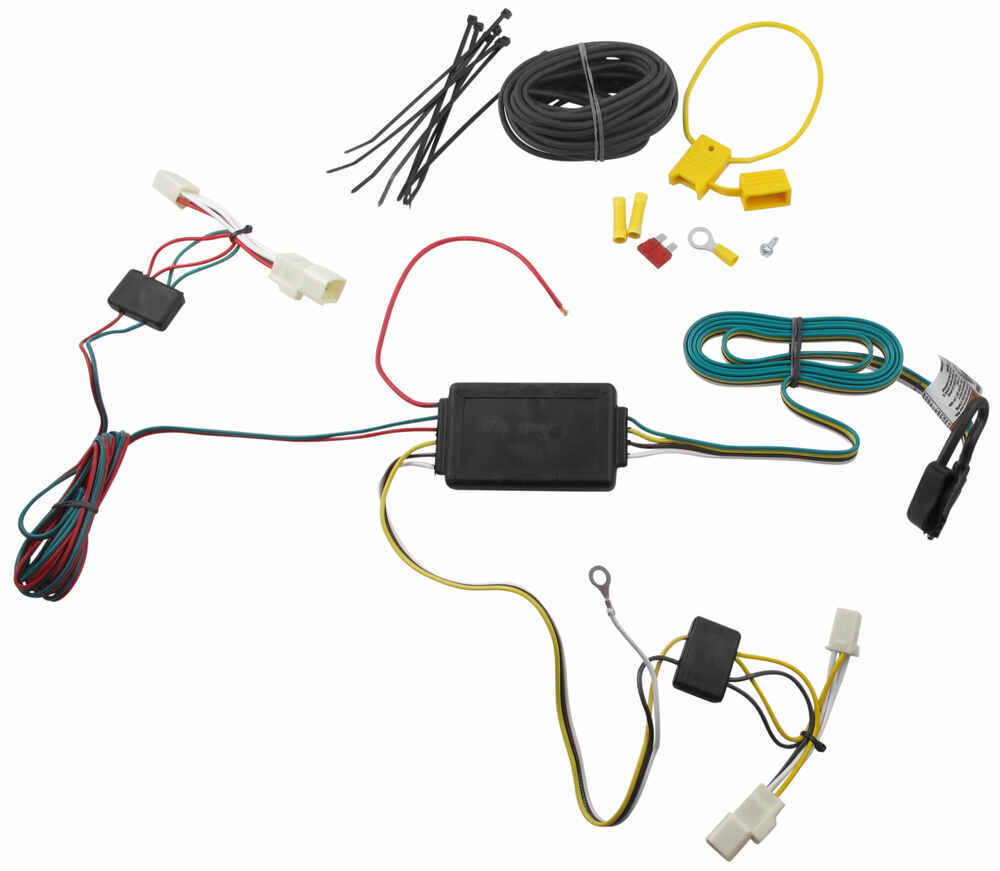 Wiring Harness Toyota Yaris : Tow ready custom fit vehicle wiring for toyota yaris