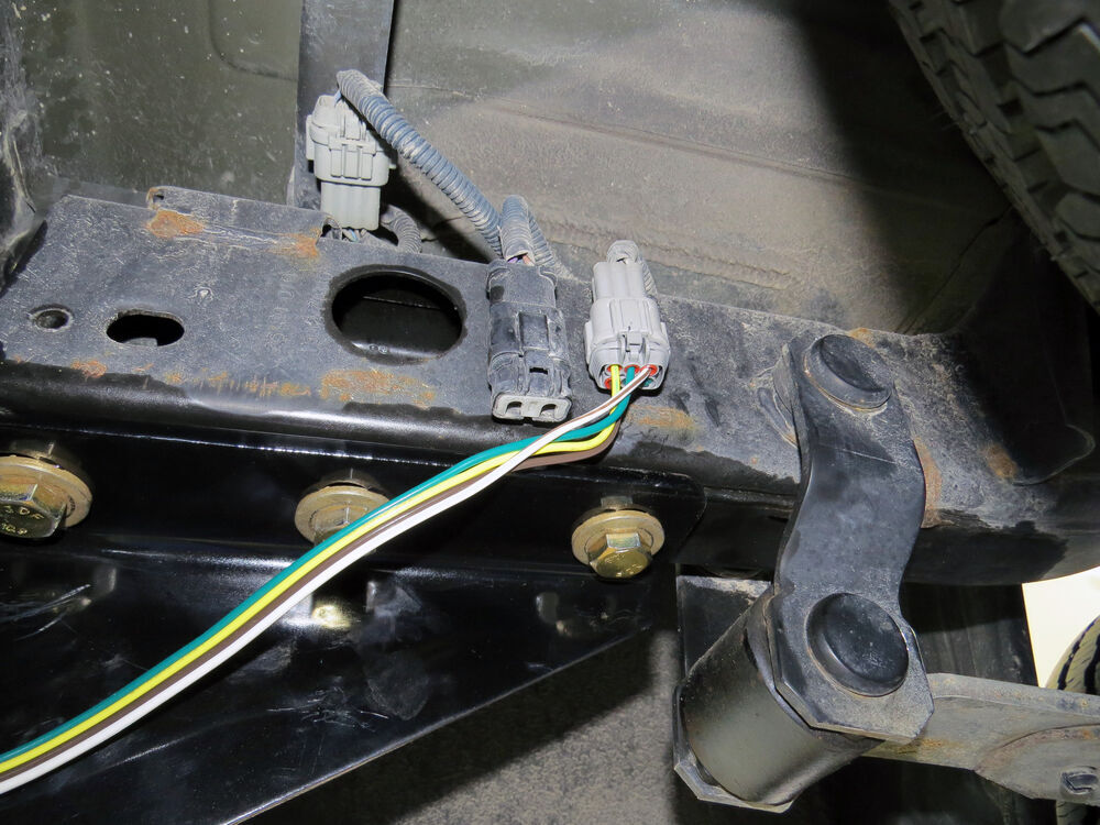 Nissan Frontier Wiring Harness Installation : Custom fit vehicle wiring for nissan frontier tow
