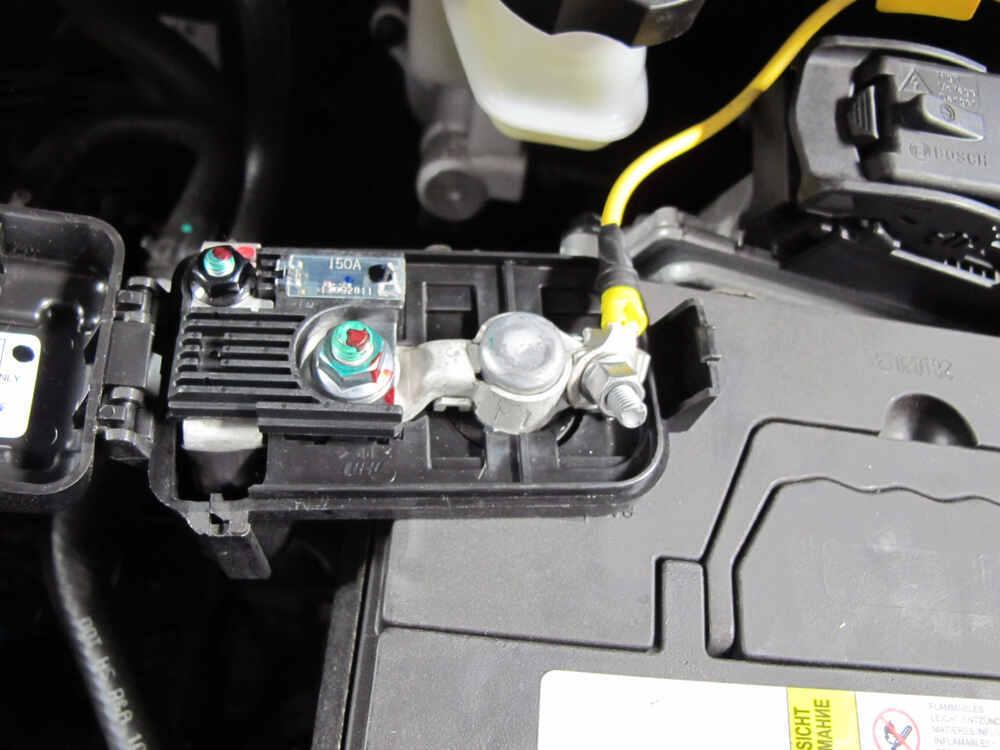Trailer wiring harness on audi q for