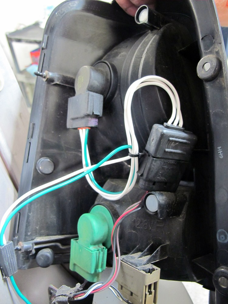 tow ready custom fit vehicle wiring for mercury mariner 0 118551