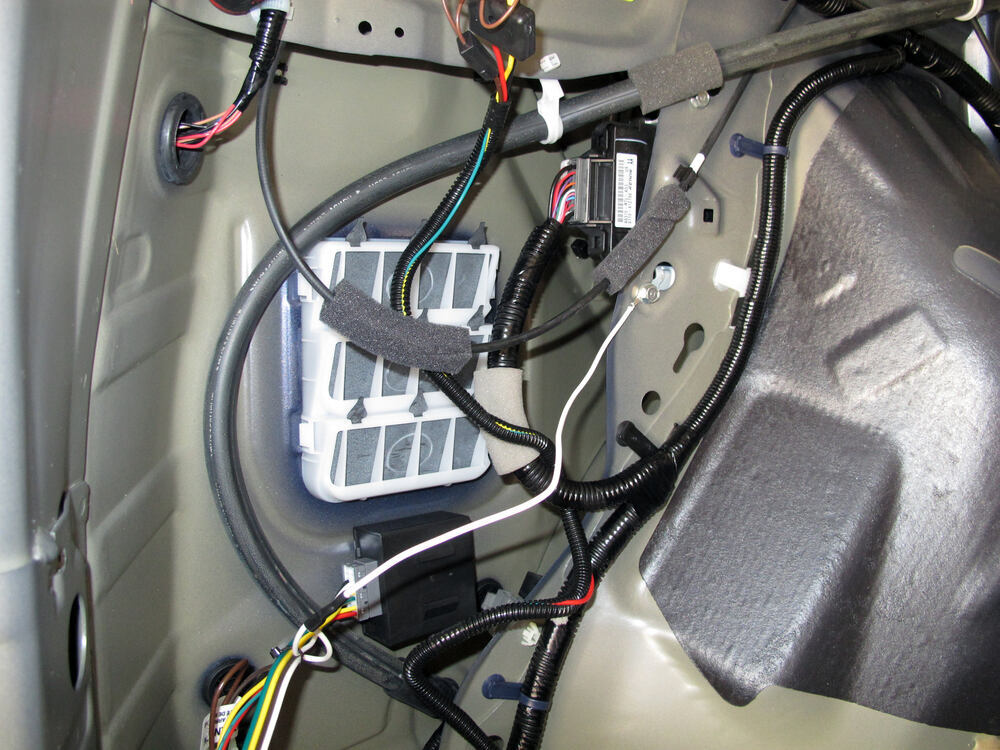 T one vehicle wiring harness tow ready custom fit