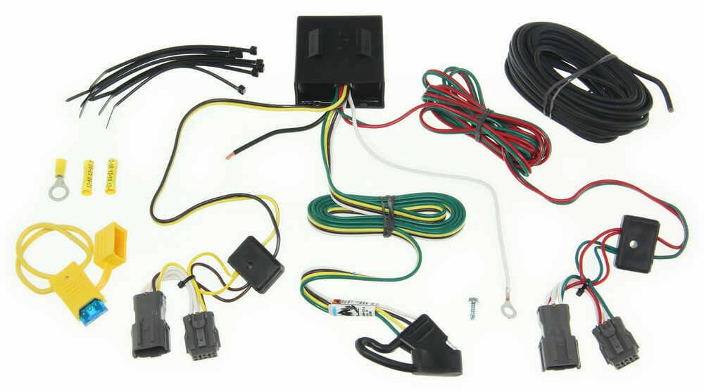 2014 Hyundai Santa Fe Trailer Wiring Harness : Tow ready custom fit vehicle wiring for hyundai santa fe