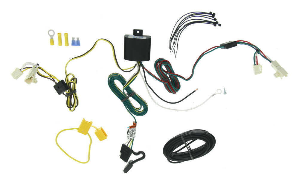 custom fit vehicle wiring by tow ready for 2013 rav4 - 118578 toyota rav4 trailer wiring harness