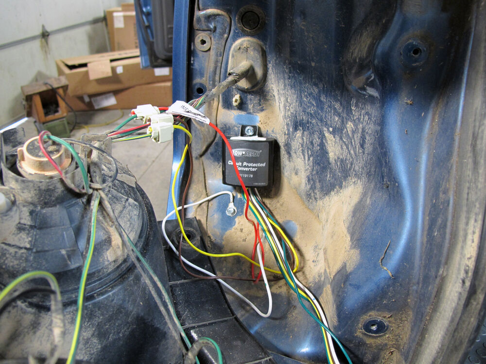 Trailer Wiring Harness 2006 Honda Element : Wiring by tow ready for element kit