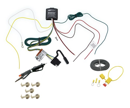 Custom Fit Vehicle Wiring,Wiring Tow Ready 119179KIT