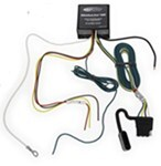 Upgraded Heavy Duty Modulite Circuit Protected Vehicle Wiring Harness with 4 Pole Trailer Connector