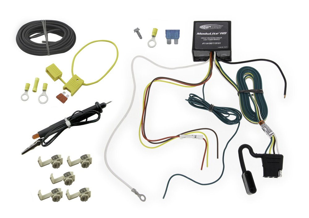 Vw Passat Trailer Wiring Harness : Upgraded heavy duty modulite circuit protected vehicle