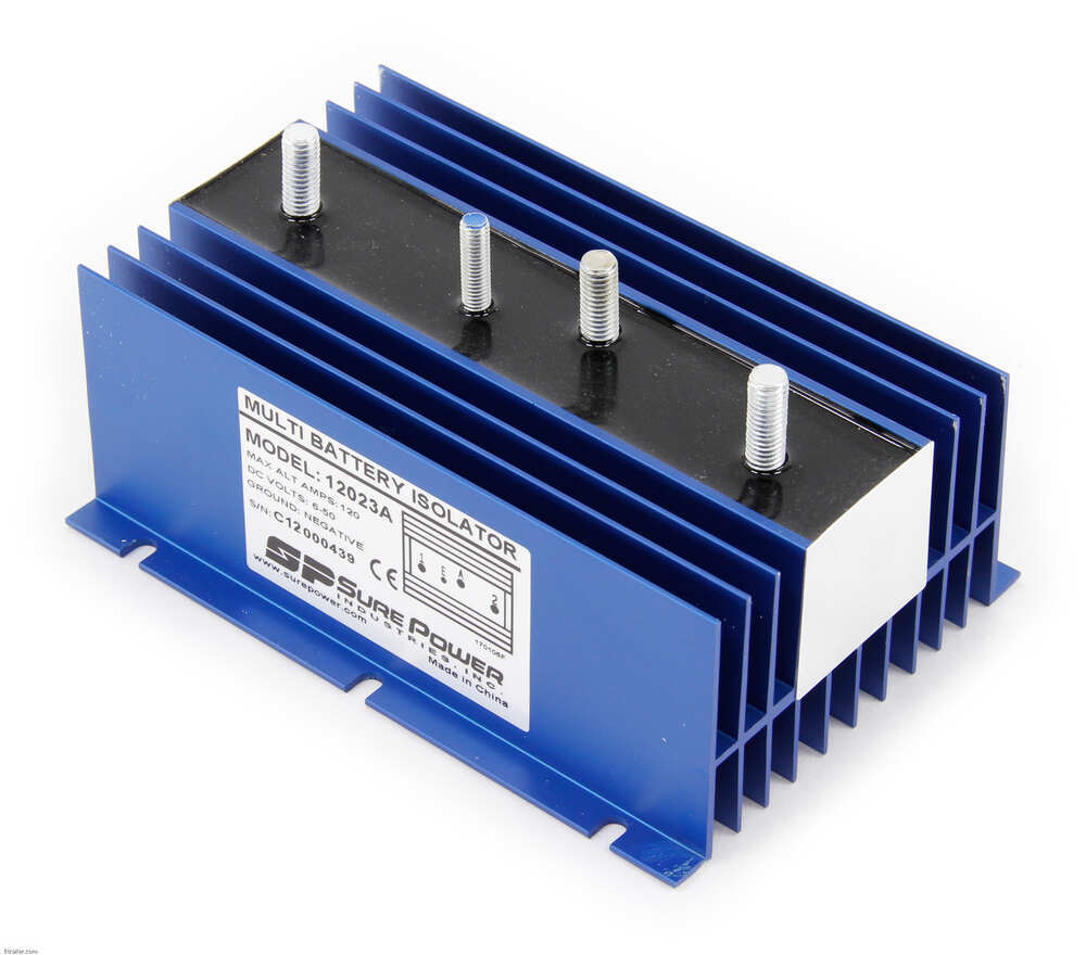 Sure Power Battery Isolator Wiring: Compare Two Battery Universal Vs Pollak 10-Terminal