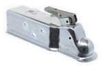 "Demco 2"" EZ-Latch Bolt-On Zinc Coupler -10,000 lbs"