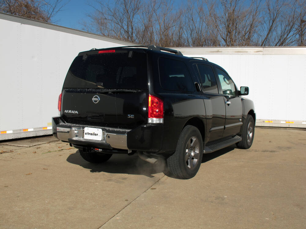 trailer hitch for 2005 nissan armada curt 13188. Black Bedroom Furniture Sets. Home Design Ideas