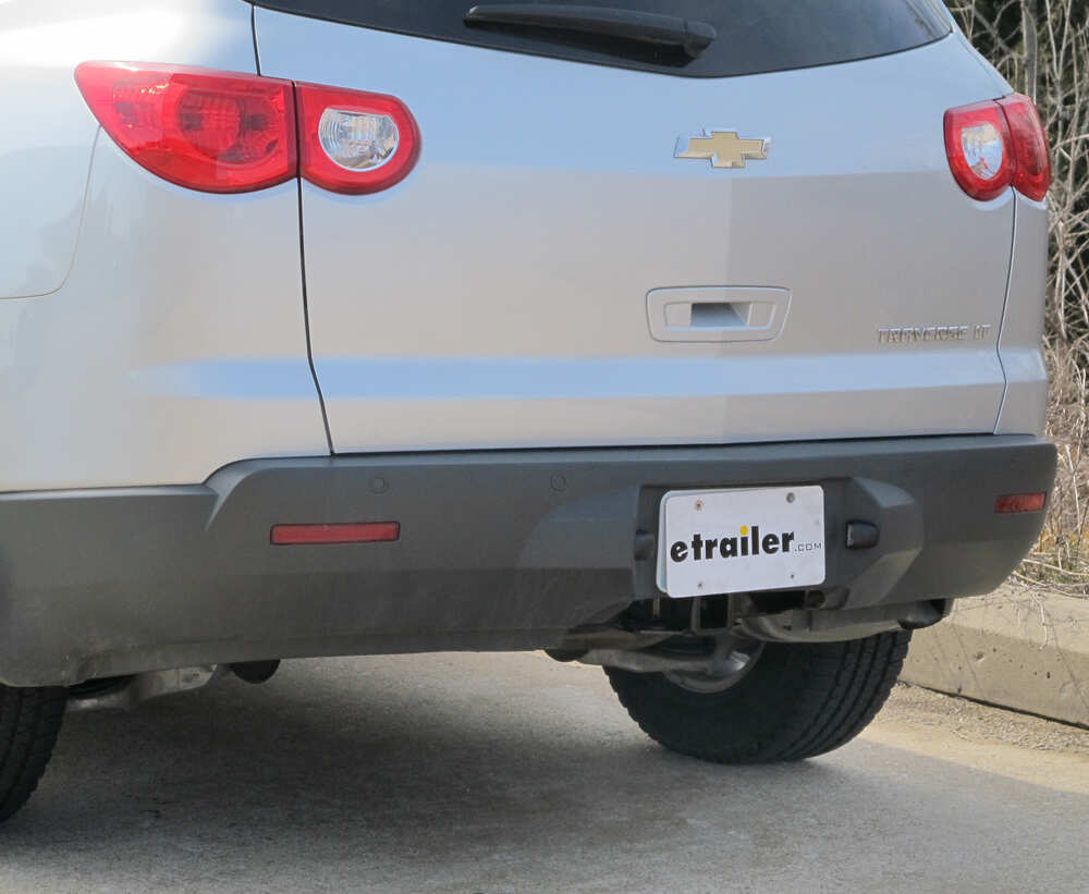 Installation Of A Trailer Hitch On 2009 Chevrolet Traverse 2012 Chevy Wiring Where Is The For 2015