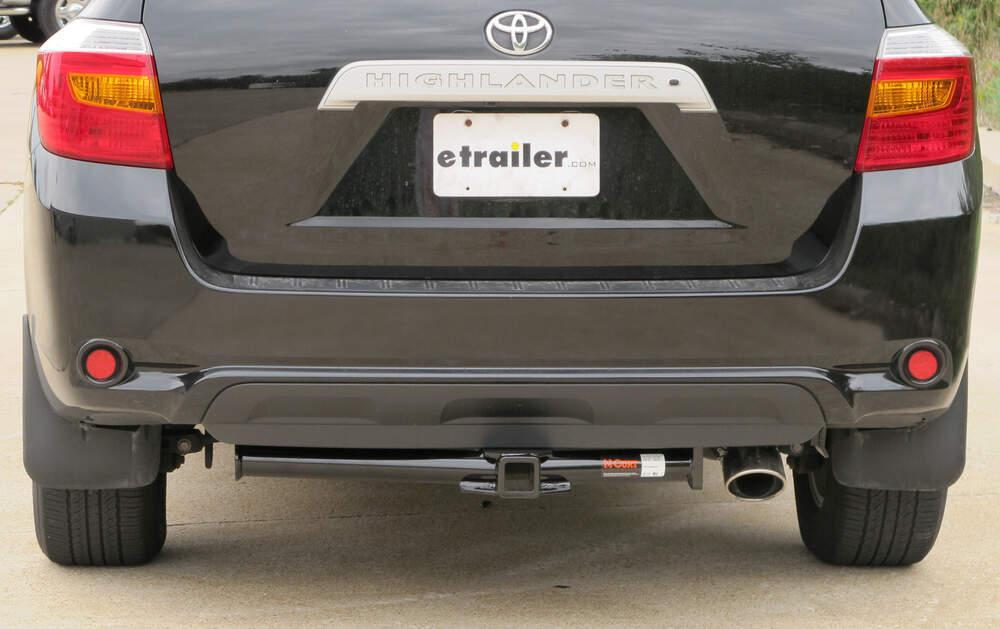 curt trailer hitch for toyota highlander 2010 13534. Black Bedroom Furniture Sets. Home Design Ideas