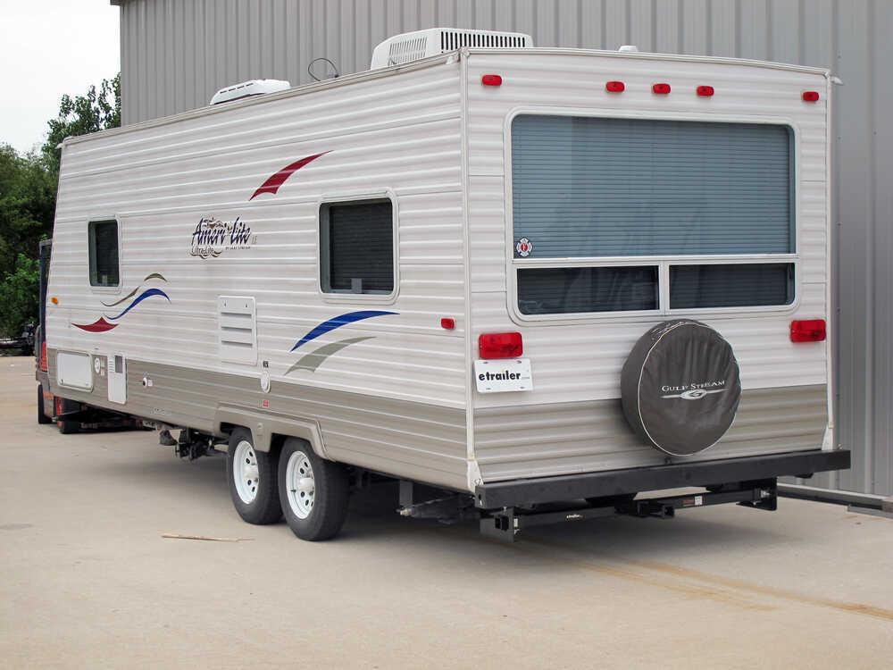 Rv rear trailer hitch