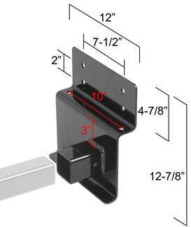 Adjustable Width Trailer Hitch