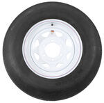 "ST225/75-D15 Bias Trailer Tire with 15"" Steel Wheel - 6 on 5-1/2 - Load Range D"