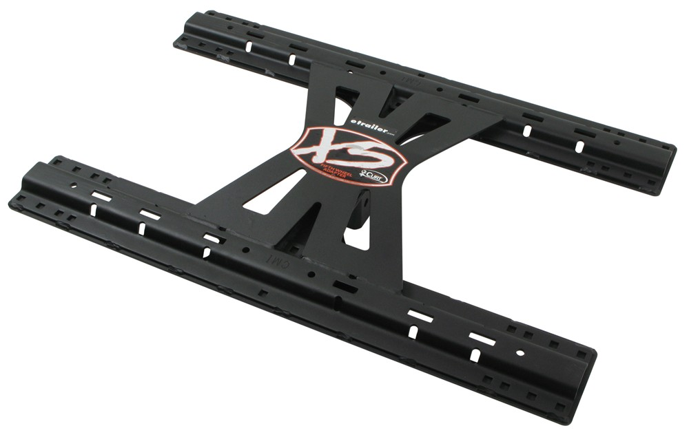 Gooseneck Trailer Lock >> Curt X5 Fifth Wheel Adapter for B and W Square Shank Turnover Ball Hitches Curt Gooseneck and ...