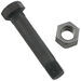 "Shackle Bolt with Locknut for Double-Eye Springs - 3"" Long"