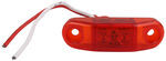 Peterson Piranha LED Small Trailer Clearance Light, Surface Mount, 2 Diode - Red