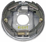 "Galvanized 10"" Marine Brake Assembly, Single Servo, Right Hand"