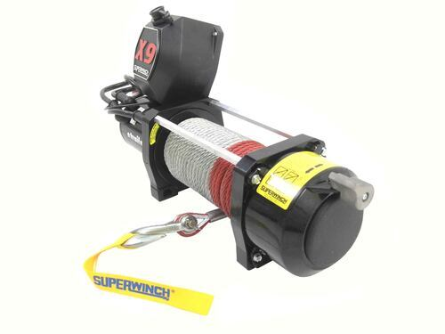 X9 Superwinch Delivers 9000 Lb Pulling Capacity With