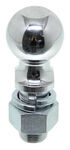 "Hitch Ball with 2-5/16"" Diameter and Medium Shank, 12,000 lbs GTW - Chrome"