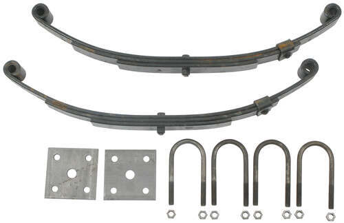 3 Leaf Double Eye Spring Kit For 2 000 Lb Trailer Axles